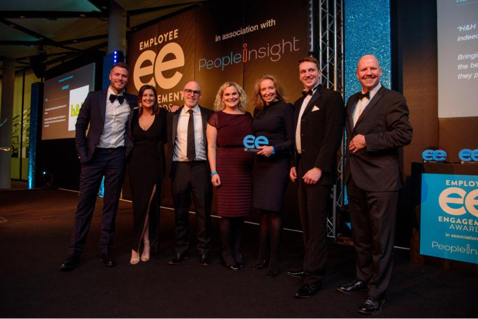 H H team recieving their ee award