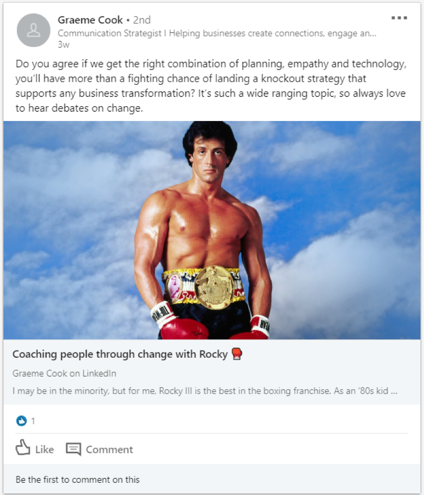 7 internal communications LinkedIn Groups you should join today, Graeme Cook