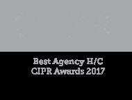CIPR Best Agency 2017 Logo