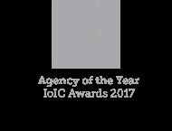 IoIC Agency of the year 2017 logo