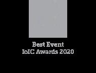 IoIC 2020 Best event logo
